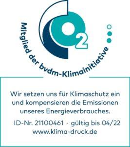Logo bvdm-Klimainitiative