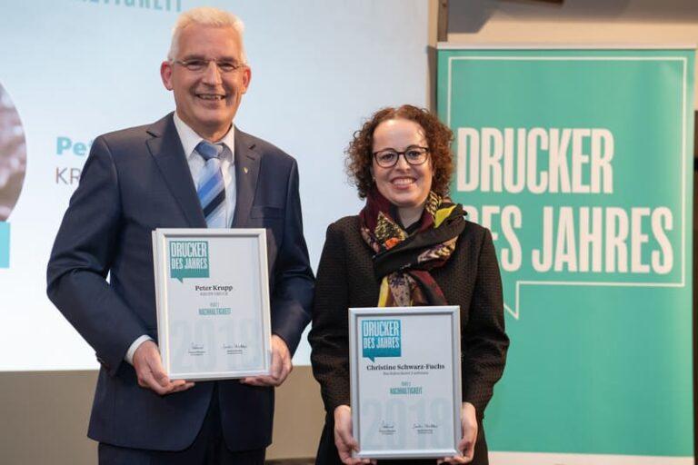 Umweltschutz: Drucker des Jahres - Nachhaltigkeit 2018