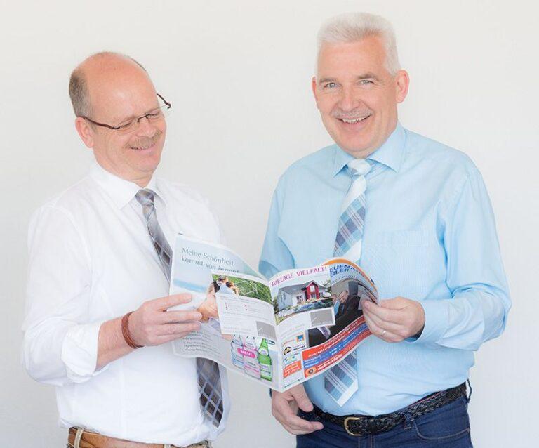 Geschäftsführer Hermann und Peter Krupp