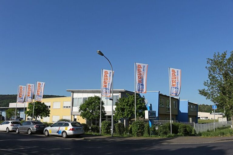 Firmengebäude Krupp Druck und Krupp Verlag