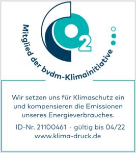 Logo Klimaneutraler Druck